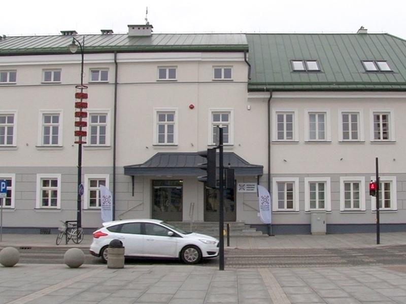 Budynek SOKu odnowiony