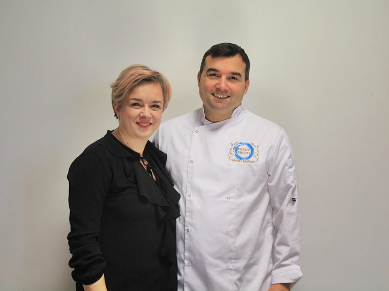 Sylwia Kulesza i Enrico Ercoli
