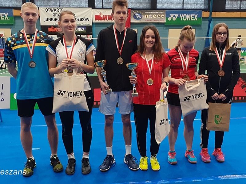 Badmintoniści wywalczyli 6 medali