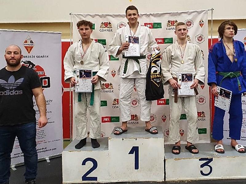 Cztery medale ełckich judoków