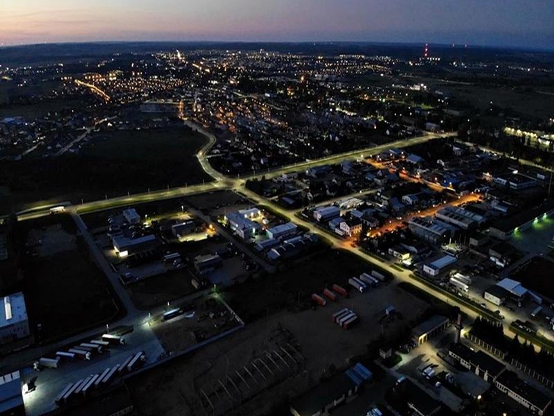 Kolejne LEDy na suwalskich ulicach