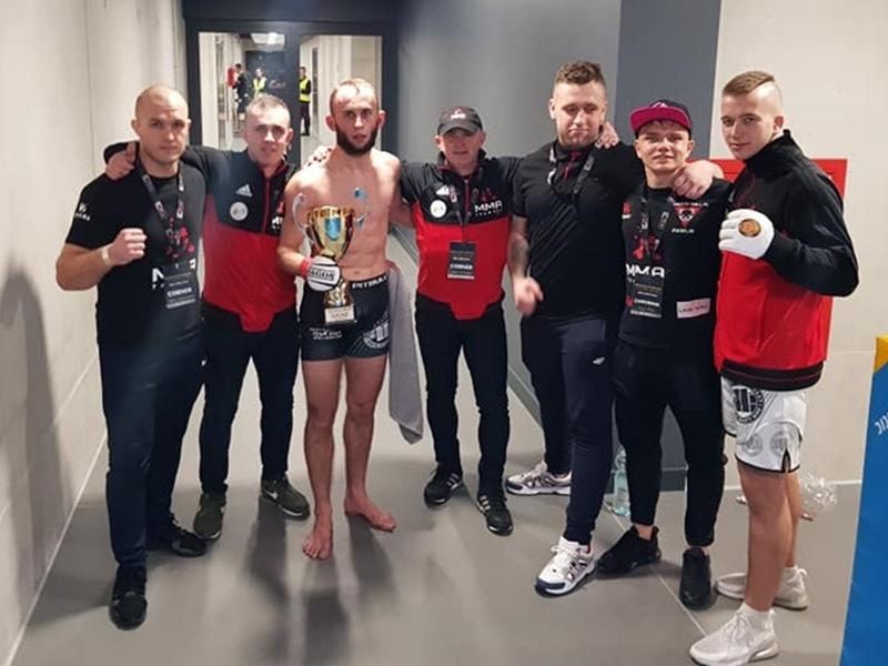 Trzy wygrane MMA Team Ełk