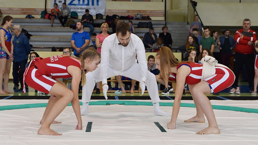 Suwalscy sumocy z medalami
