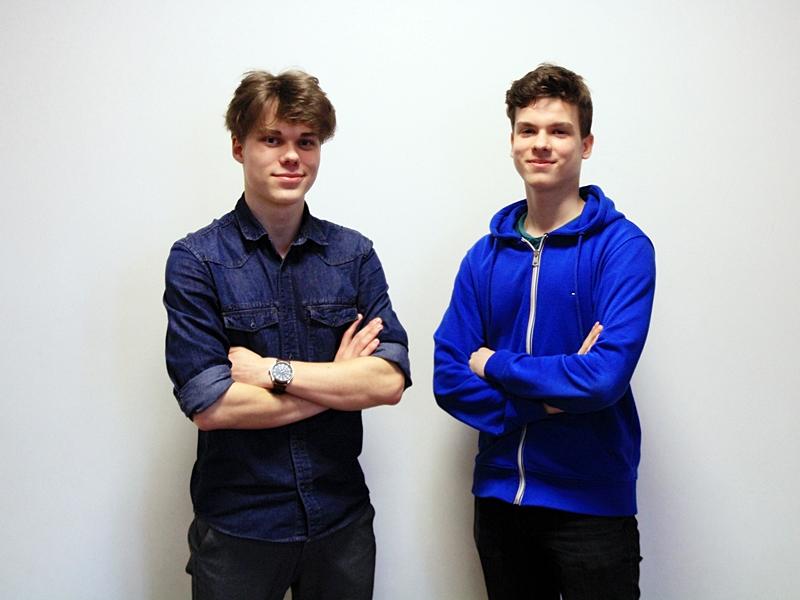 Mateusz Brzeziński i Jakub Kalinowski