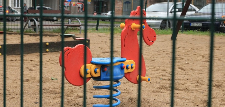 Place zabaw zamknięte