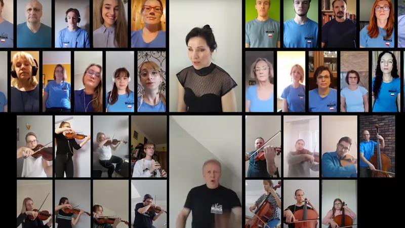 Suwalscy chórzyści zaśpiewali w sieci