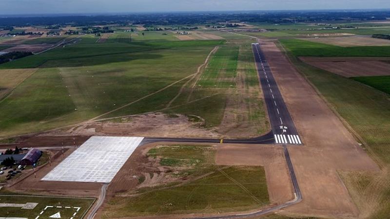 Będzie oficjalne otwarcie lotniska