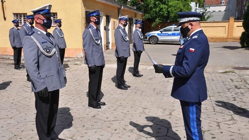 Świętowali ełccy policjanci
