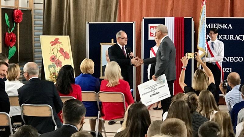 ZS2 w Suwałkach nagrodzone za najwyższą zdawalność matur