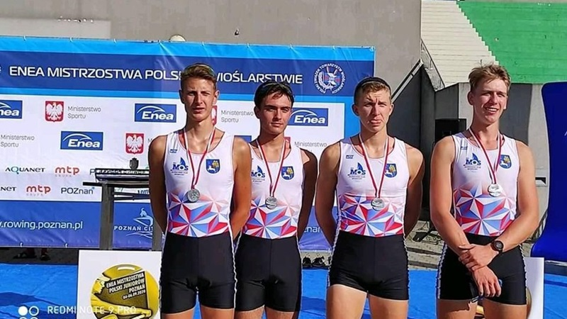 Cztery medale zawodników MOS Ełk