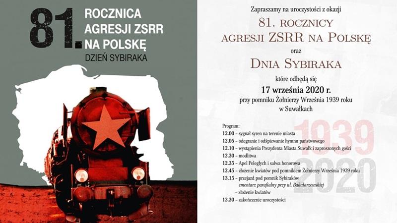 Obchody 81. rocznicy agresji ZSRR na Polskę