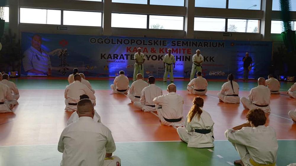 Ponad stu zawodników wzięło udział w Seminarium Karate Kyokushin