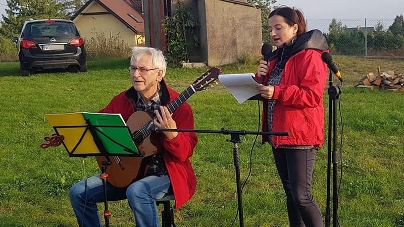 Mieszkańcy Sobolewa przywitali jesień