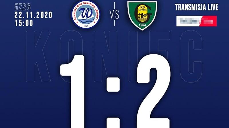 Wigry Suwałki 1:2 GKS Katowice