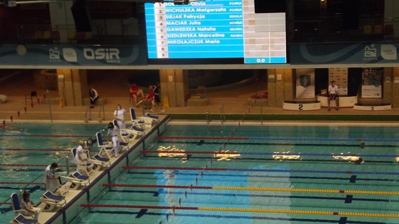 Kolejne medale pływaków