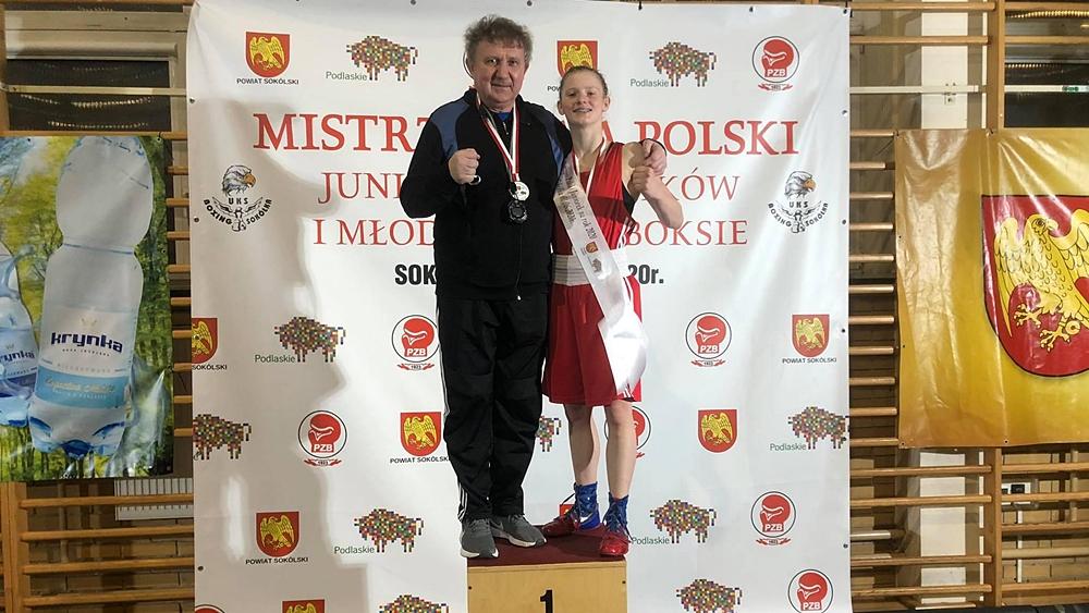 Mistrzyni Polski jest z Ełku. Kolejny sukces Natalii Kuczewskiej