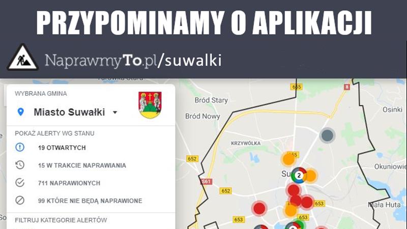 NaprawmyTo.pl – przypominamy o aplikacji