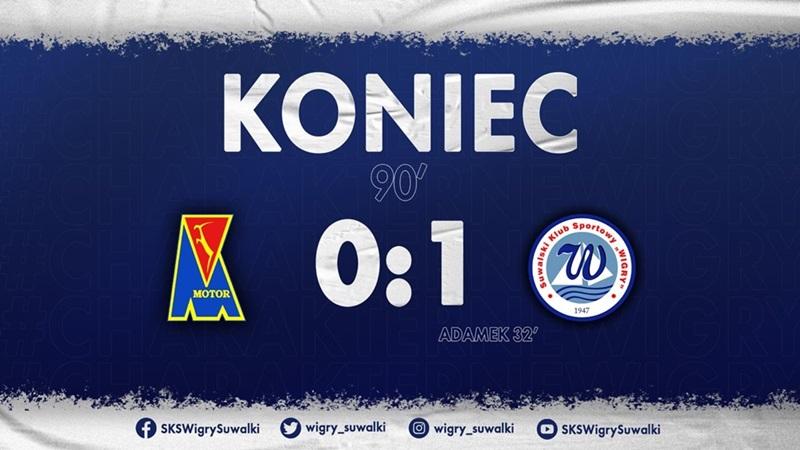 Motor Lublin 0:1 Wigry Suwałki