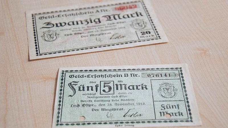Poszerza się kolekcja notgeldów ełckiego muzeum